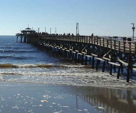 Cherry Grove Pier Live Webcam Live Beaches