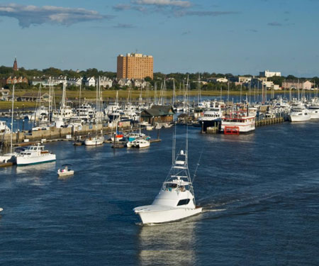 Charleston City Marina Webcam
