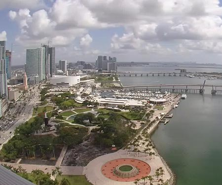 Live Webcam of Downtown Miami