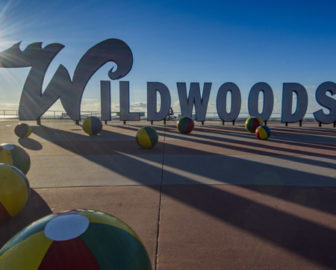 Wildwood, NJ Boardwalk Sign Live Cam