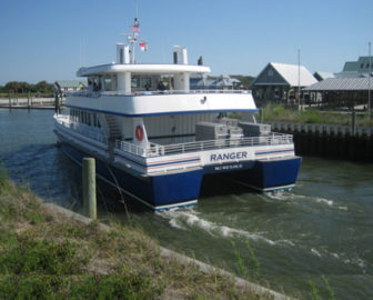 Bald Head Island Ferry Cam