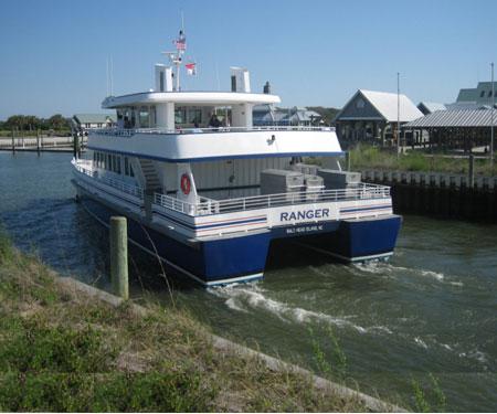 Bald Head Island Ferry Cam