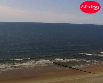 Ocean City, NJ Gardens Plaza Skycam