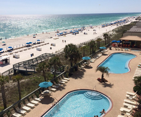 Gulf Crest Condos Cam in Panama City Beach