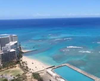 Aerial Tour of Honolulu, HI