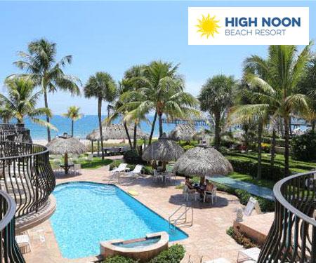 High Noon Beach Resort Pool Cam