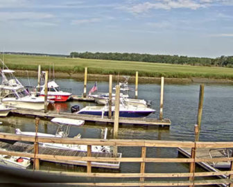Hogan's Marina Webcam in Savannah