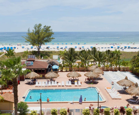 Howard Johnson Resort Hotel in St Pete Beach