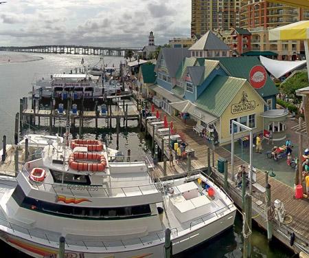 Harborwalk Village Webcam in Destin FL