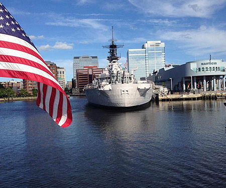 Nauticus Museum in Norfolk, VA