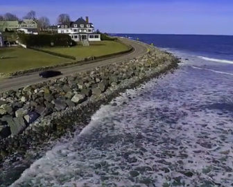 Aerial Tour of Rye Beach, NH