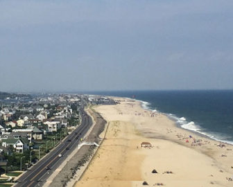 Aerial Tour of Monmouth Beach, NJ