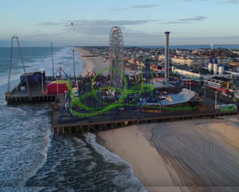 Aerial Tour of Seaside Heights, NJ