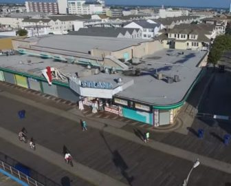 Aerial Tour of Wildwood, NJ