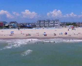 Aerial Tour Of Atlantic Beach Nc