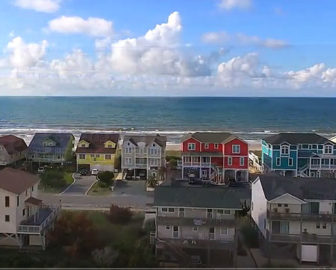 Aerial Tour of Holden Beach, NC
