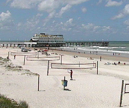 Ocean Deck Restaurant & Beach Club Webcam Daytona Beach FL