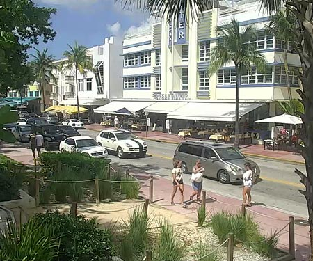 Ocean Drive Webcam Miami FL