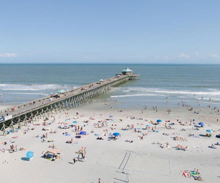 Live Cam from Pier 101 Folly Beach SC