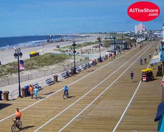 Ocean City, NJ Boardwalk Webcam