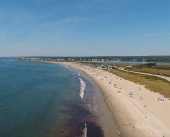 Aerial Tour of Matunuck, RI
