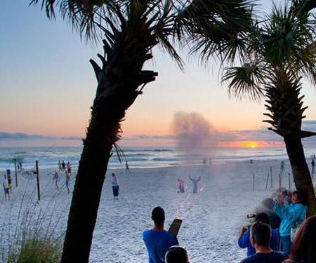 Schooners Sunset Cam - Panama City Beach