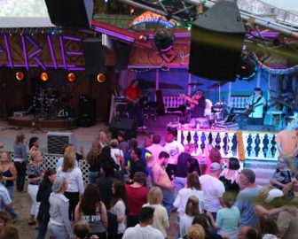 Seacrets Live Beach Stage Cam