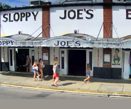 Sloppy Joe's Live Cam in Key West