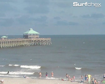 Folly Beach Surf Cam from Surfchex
