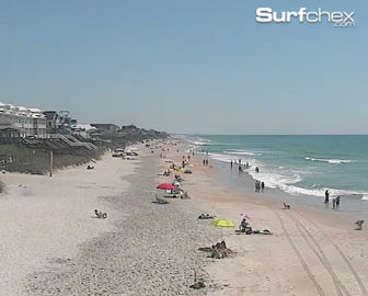 Surf City Pier Cam from Surfchex