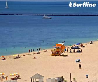 Live Miami Beach Cam by Surfline