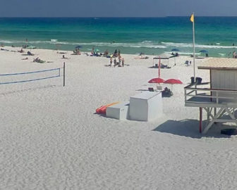 The Crab Trap Beach Cam in Destin FL