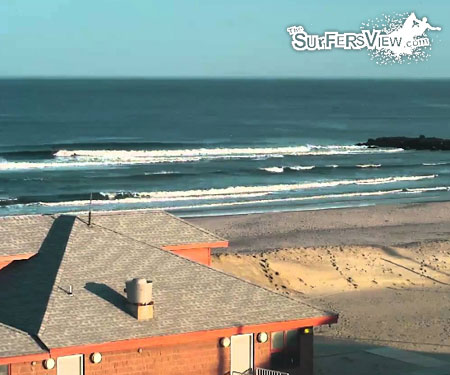 Monmouth Beach Surf Cam from TheSurfersView