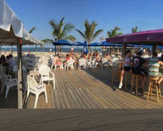 Martell's Tiki Bar Beach Cam Point Pleasant Beach, NJ