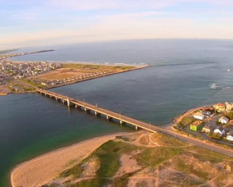 Aerial Tour of Seabrook Beach, NH