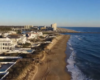 Aerial Tour Of Croatan Beach Va