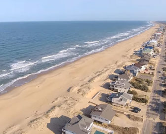 Aerial Tour of Sandbridge Beach, VA