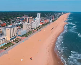 Aerial Tour of Virginia Beach, VA
