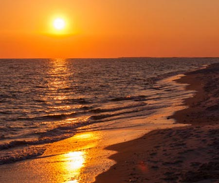 West End Beach, Dauphin Island, AL