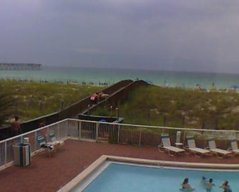 Navarre Beach Regency Webcam