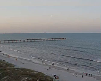 Live Cam from Jacksonville Beach