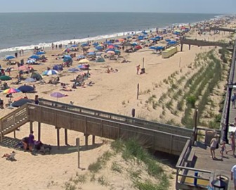 Bethany Beach DE Webcam South Surf