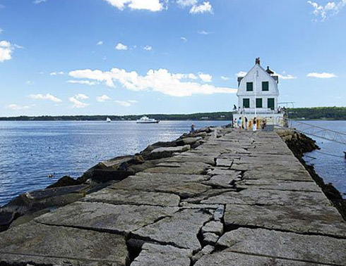 Image result for breakwater maine