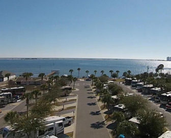 Emerald Beach RV Park Cam
