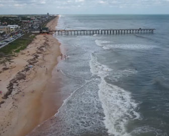 Aerial Tour Of Flagler Beach Fl