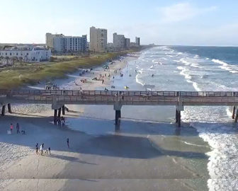 Aerial Tour Of Jacksonville Beach Fl