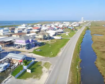 Aerial Tour of Grand Isle, LA