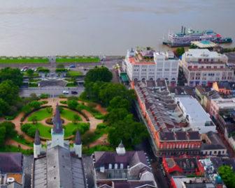 Aerial Tour of New Orleans, LA