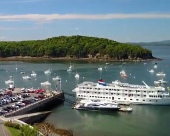 Aerial Tour of Bar Harbor, ME