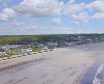 Aerial Tour of Kennebunkport, ME